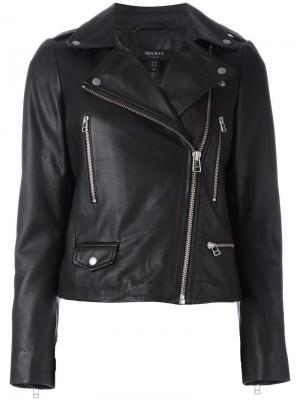 Байкерская куртка Granger Muubaa. Цвет: чёрный