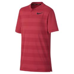 Рубашка-поло для гольфа мальчиков школьного возраста  Zonal Cooling Nike. Цвет: розовый