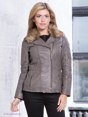 Куртка Scara LDW W Mauritius. Цвет: темно-серый