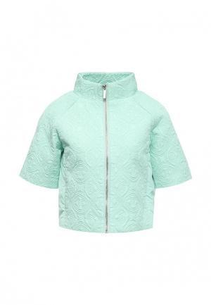 Куртка oodji. Цвет: мятный