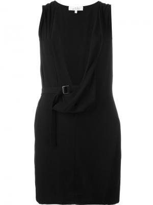 Платье бех рукавов Iro. Цвет: чёрный