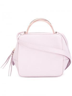 Мини сумка на плечо The Volon. Цвет: розовый и фиолетовый