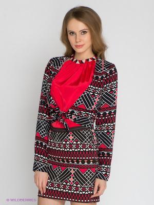 Жакет Vero moda. Цвет: красный, черный