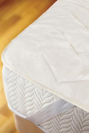 Стеганый наматрасник 160х200 Daily by T. Цвет: белый