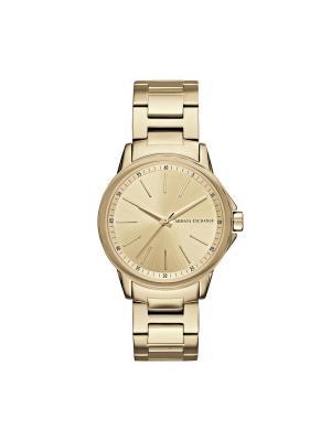 Часы Armani Exchange. Цвет: золотистый, желтый