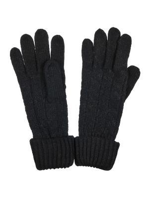 Перчатки Модные истории. Цвет: черный