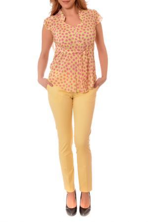 PANTS RADEKS. Цвет: yellow