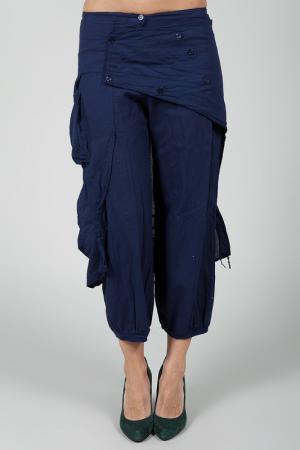 Три четверти брюки La Belle Helene. Цвет: navy