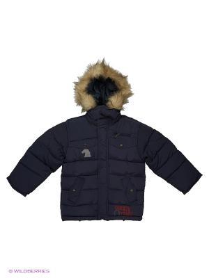 Куртка для мальчика Родео Пралеска. Цвет: синий