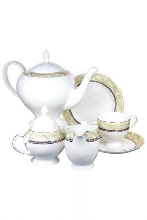Чайный сервиз Романтика EMERALD. Цвет: мультицвет