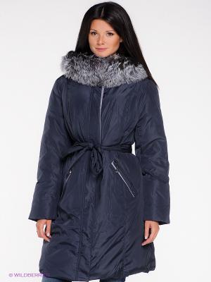 Пальто X'cluSIve. Цвет: темно-синий
