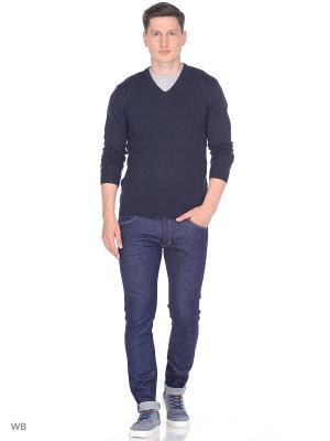 Пуловер Wrangler. Цвет: темно-синий