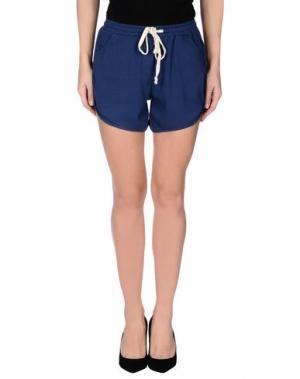 Повседневные шорты FOURMINDS. Цвет: темно-синий