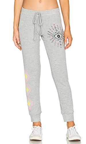 Свободные брюки kizzy Lauren Moshi. Цвет: серый
