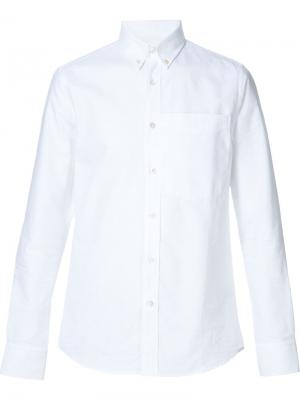 Рубашка с нагрудным карманом Opening Ceremony. Цвет: белый