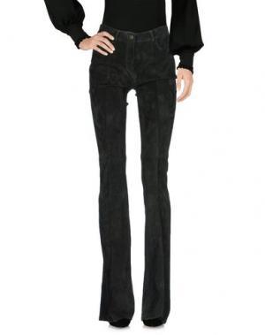 Повседневные брюки JITROIS. Цвет: темно-зеленый