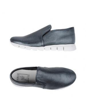 Низкие кеды и кроссовки W DABLIU. Цвет: стальной серый