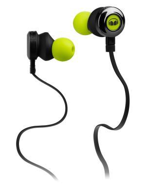 Наушники с микрофоном Monster Clarity HD In-Ear, Green. Цвет: зеленый
