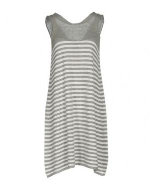 Короткое платье MA'RY'YA. Цвет: серый