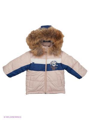 Куртка Wojcik. Цвет: бежевый, темно-синий