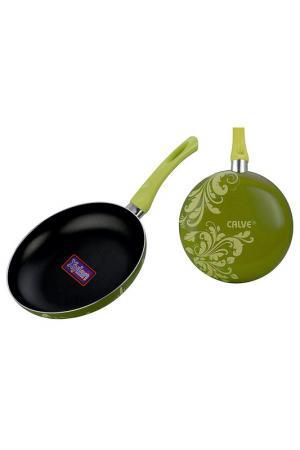 Сковорода Calve. Цвет: черный, зеленый