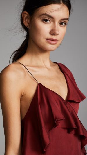 All You Need is Love Asymmetrical Dress Haute Hippie