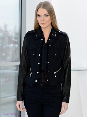 Куртка SAO PAULO. Цвет: темно-синий, черный