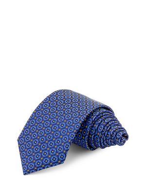 Галстуки GREG. Цвет: синий, светло-желтый