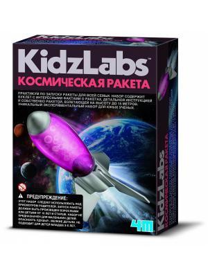 Космическая Ракета 4M. Цвет: черный, фиолетовый