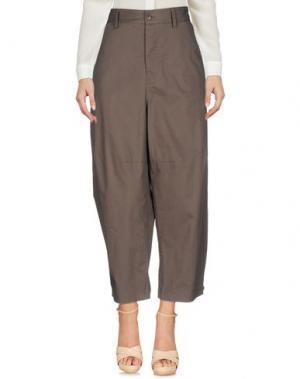 Повседневные брюки VIRNA DRÒ®. Цвет: розовато-лиловый
