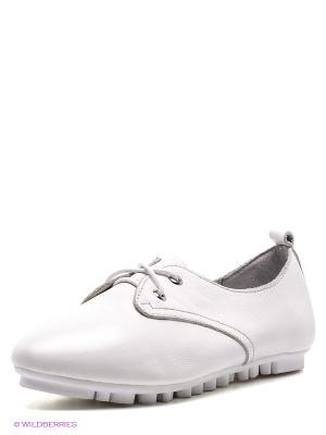 Ботинки Strange. Цвет: белый