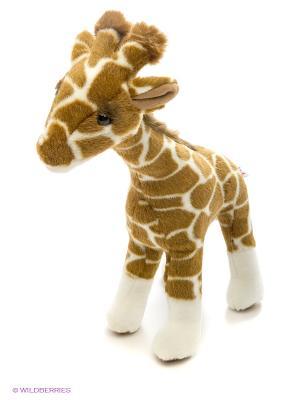 Жираф, 38 см Hansa. Цвет: коричневый, бежевый