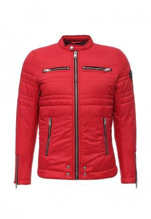 Куртка утепленная Diesel. Цвет: красный
