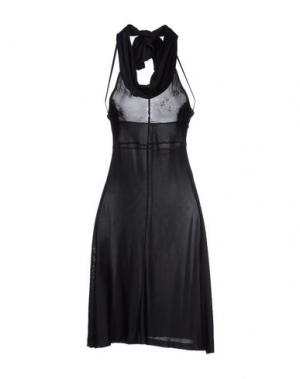Платье до колена NOLITA DE NIMES. Цвет: черный