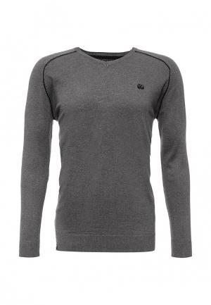 Пуловер MeZaGuz. Цвет: серый