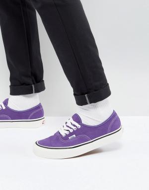 Vans Фиолетовые кеды Authentic Anaheim 44 Dx VA38ENQSW. Цвет: фиолетовый