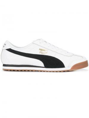 Кроссовки Roma Puma. Цвет: белый