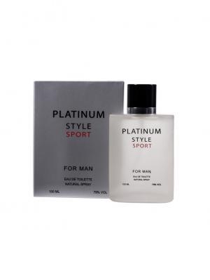 Туалетная вода Platinum style 100 мл ПонтиПарфюм. Цвет: серый