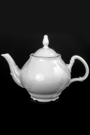 Чайник 1,2 л BERNADOTTE. Цвет: белый, золотой