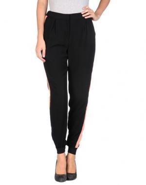 Повседневные брюки EMMA COOK. Цвет: черный