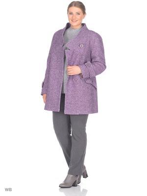 Пальто Fart Favorita. Цвет: розовый