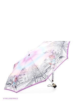 Зонт Eleganzza. Цвет: розовый, голубой, светло-серый