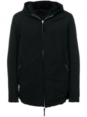 Куртка на молнии с капюшоном 11 By Boris Bidjan Saberi. Цвет: чёрный