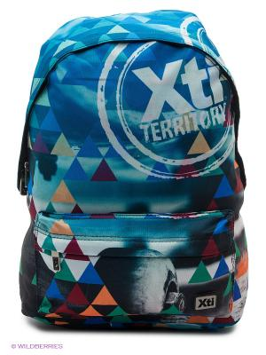 Рюкзаки XTI. Цвет: голубой