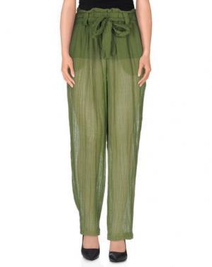 Повседневные брюки MASSCOB. Цвет: зеленый