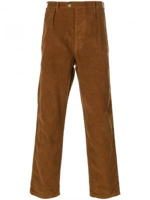 Suedois corduroy trousers Bleu De Paname. Цвет: коричневый