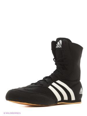 Боксерки Box Hog 2 Adidas. Цвет: черный