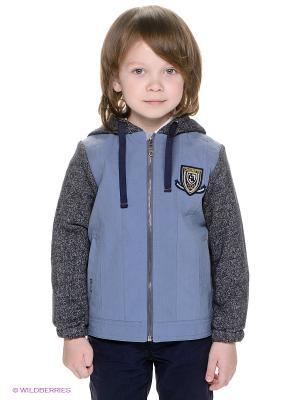 Куртка CHOUPETTE. Цвет: серо-голубой