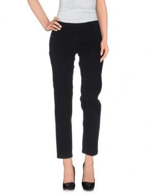Повседневные брюки D-21. Цвет: черный