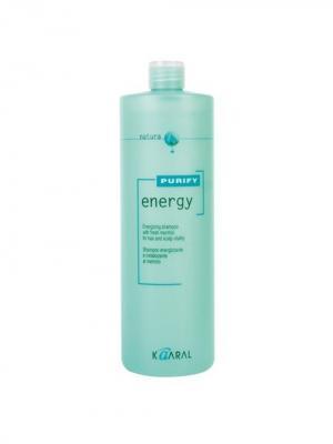 Purify Интенсивный энергетический шампунь с ментолом Energy Shampoo 1000мл. Kaaral. Цвет: светло-зеленый